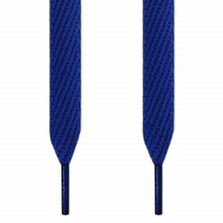 Extra brede blauwe schoenveters