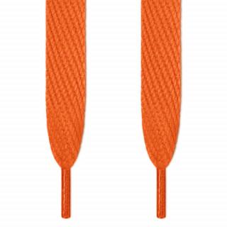Super brede oranje schoenveters