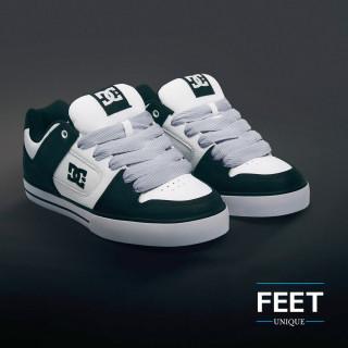 Super brede lichtgrijze schoenveters