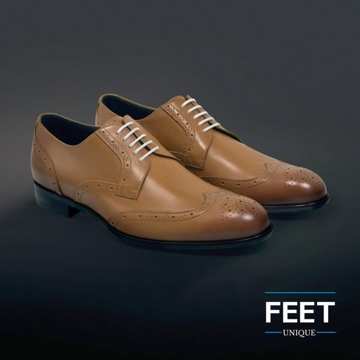Dunne ronde witte schoenveters
