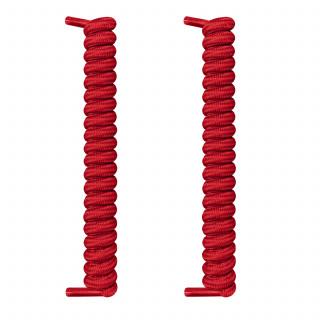 Rode spiraal schoenveters