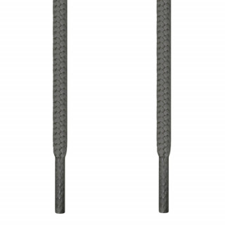Ronde choenveters - 4mm Donkergrijs