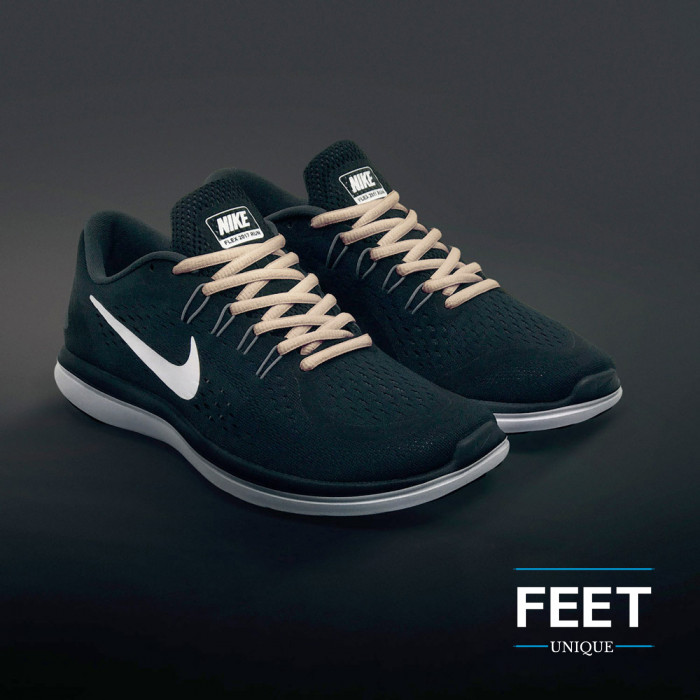 Ovale lichtbruine schoenveters