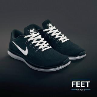 Ovale witte schoenveters