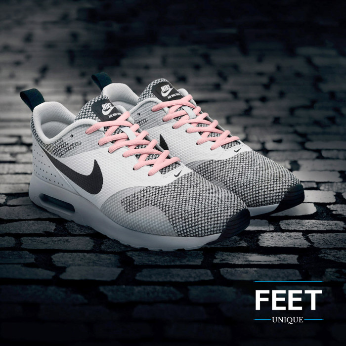 Ovale roze schoenveters