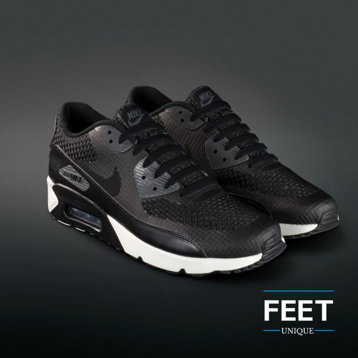 Zwarte no-tie Siliconen schoenveters
