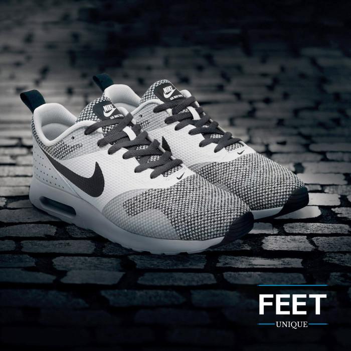 Platte donkergrijze schoenveters