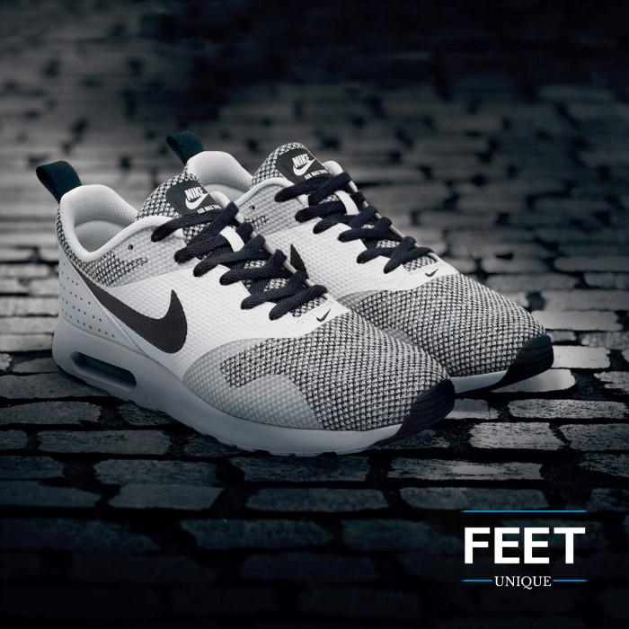 Platte zwarte schoenveters