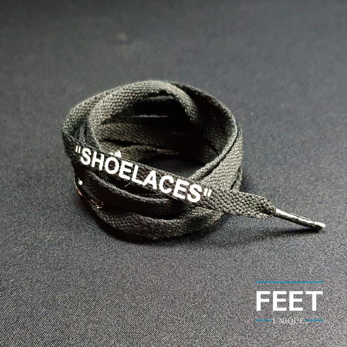Zwarte OFF-WHITE Schoenveters